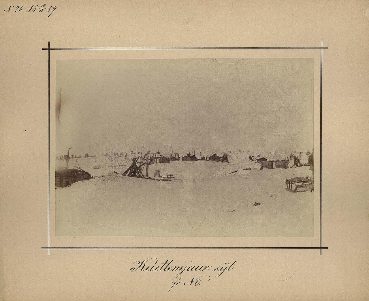 14.4.1889. В северной части острова Куроптева