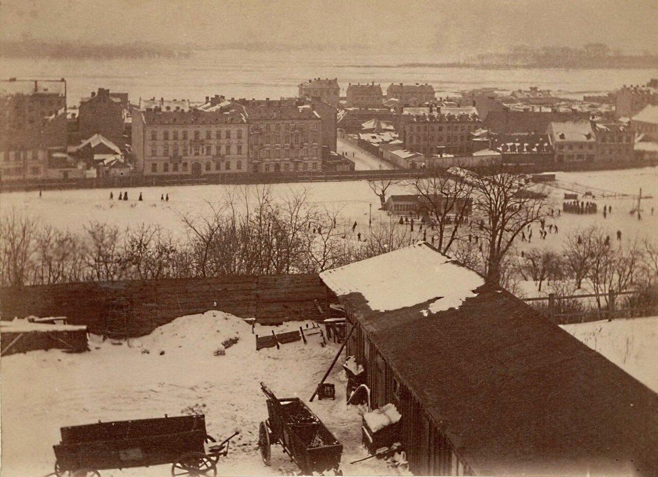 Панорама Варшавы 1870