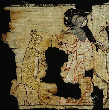 Древнеегипетский папирус    1110 г. до н.э.