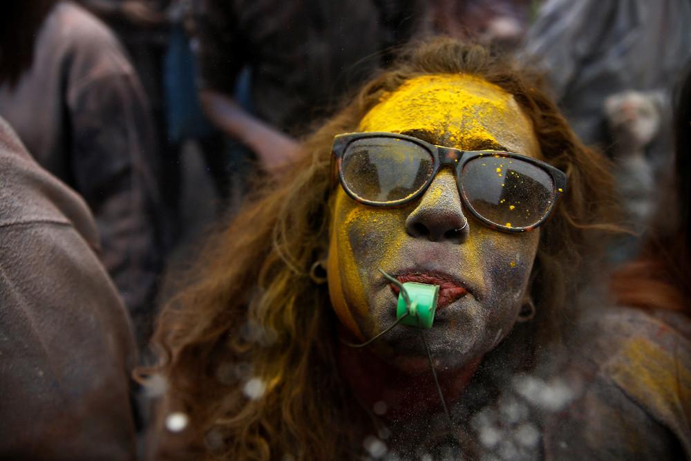 Бой мукой в Греции