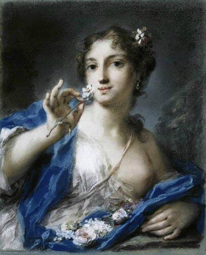 Rosalba Carriera - Весна, 1725