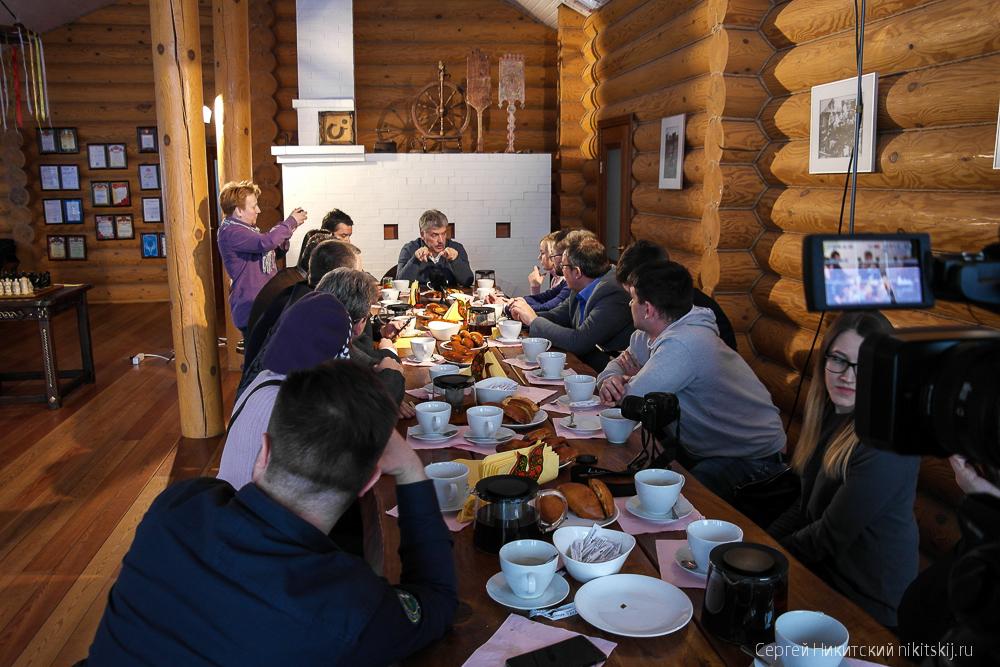 Встреча блогеров с Грудининым