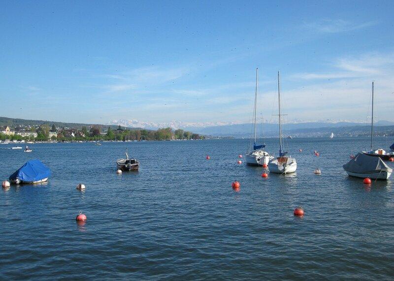 На  Цюрихском  озере