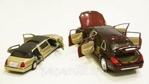 Отличие Кинсмарт Линкольн Лимузин от Лимузина XLG M923T