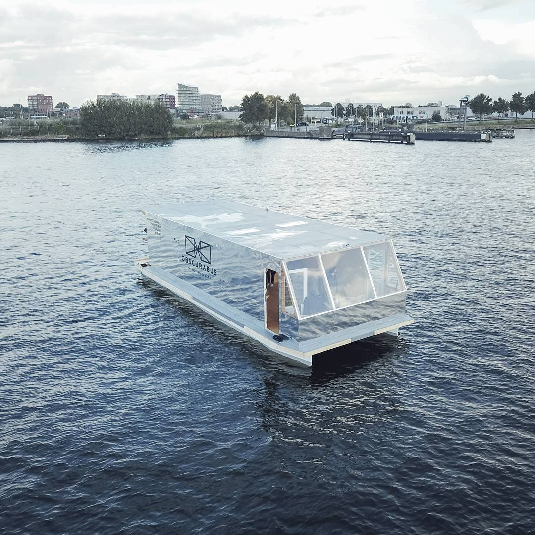 A Floating Photographic Lab by Claudius Schulze and Maciej Markowicz