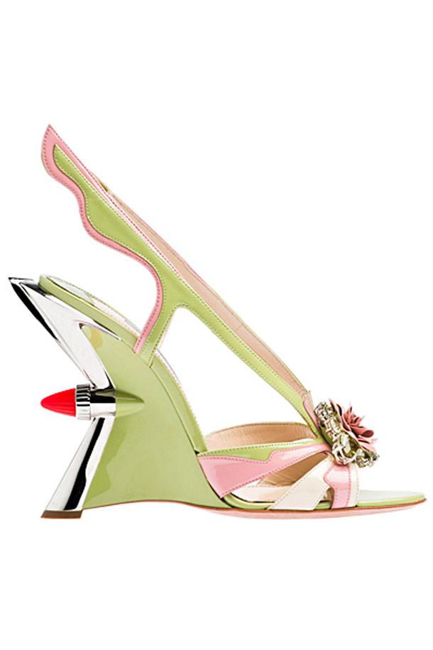 When Prada uses cult classic cars to create High Heels