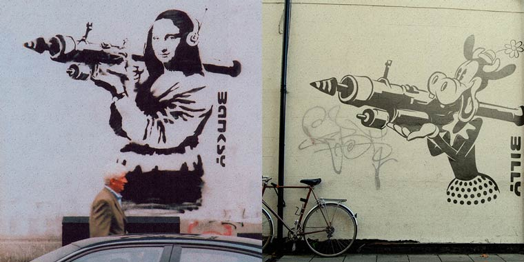 Banksy Cartoons – Revisiting the artworks of Banksy with cartoons