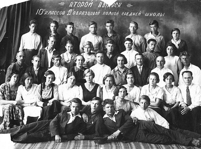 Выпускники 1936.