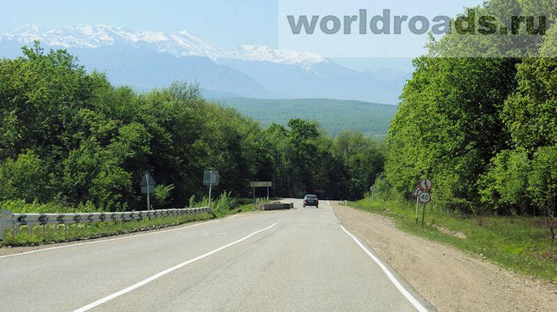 Дорога в Гуамку
