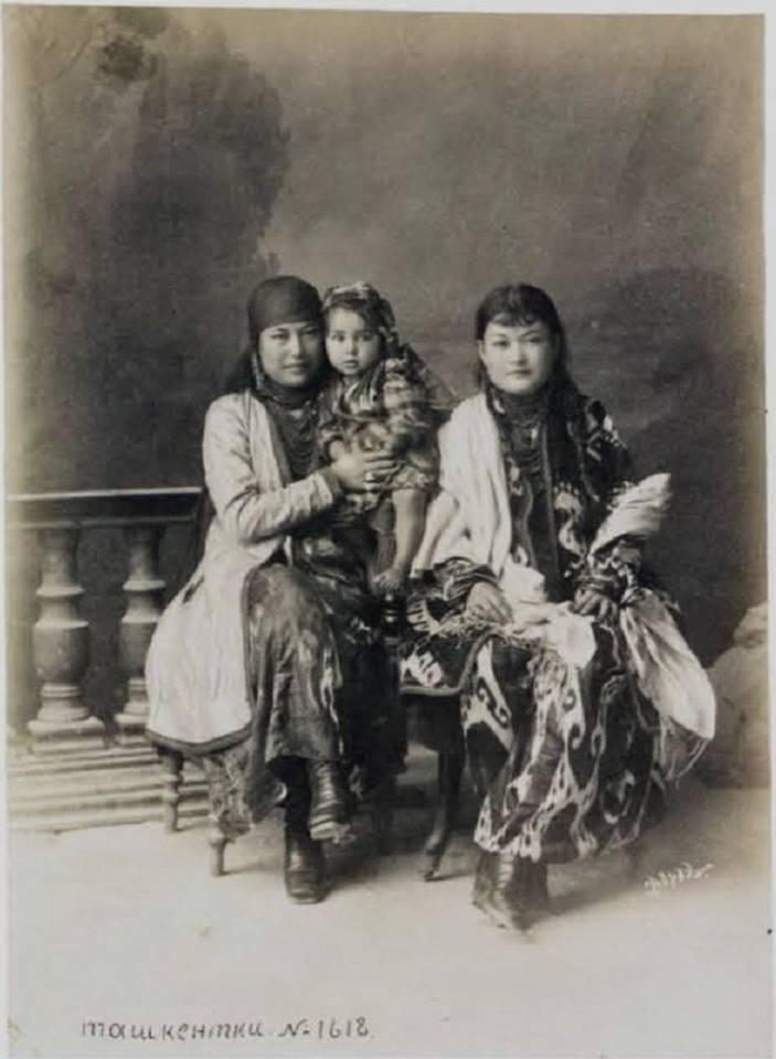 Жительницы Ташкента