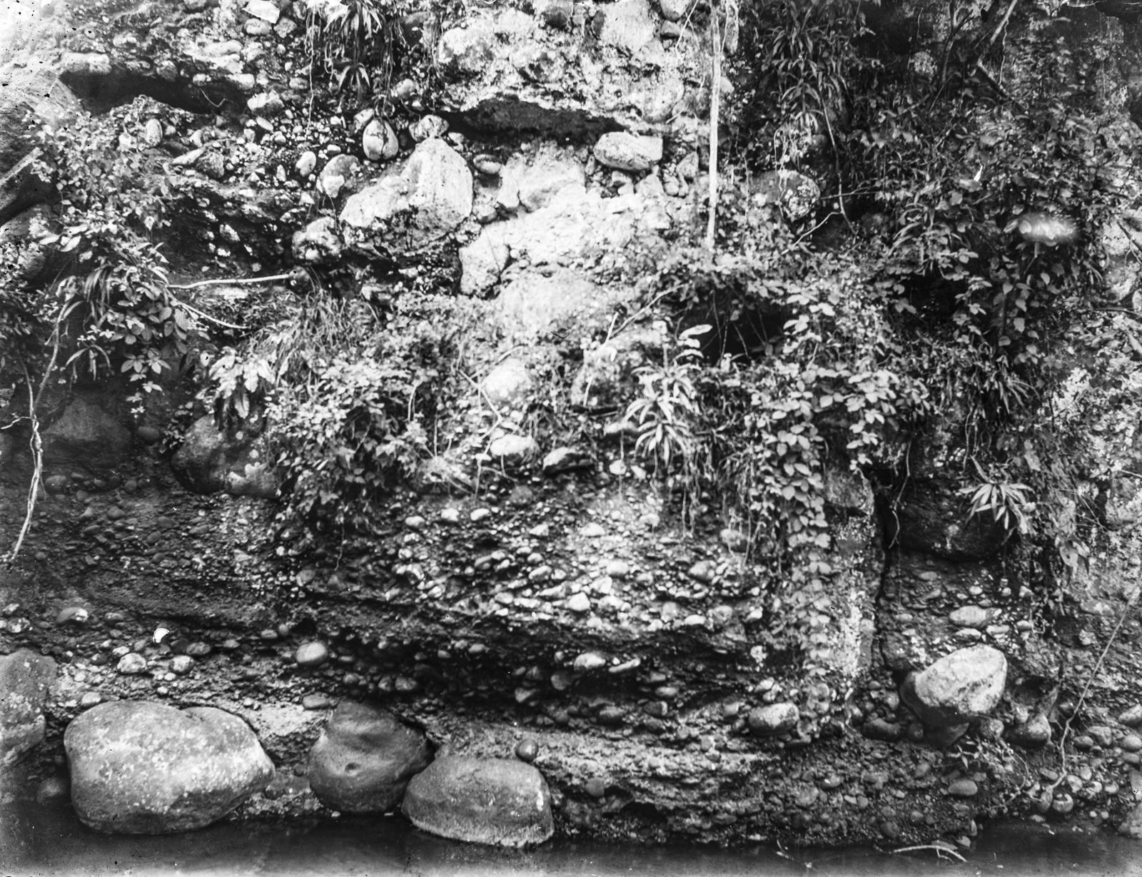 124. Вид скальной стены