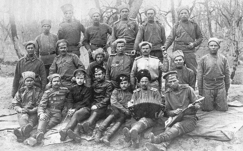 Soldiers of the 3rd Company of the 9th Siberian Grenadier Regiment, March 24th, 1917 Солдаты 3-й роты 9-го Сибирского гренадерского полка , 24-го марта 1917 года