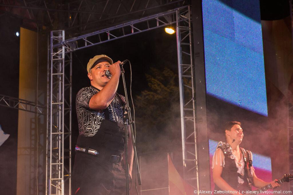 Группа Комиссар в Чебоксарарх. Концерт. Фото.