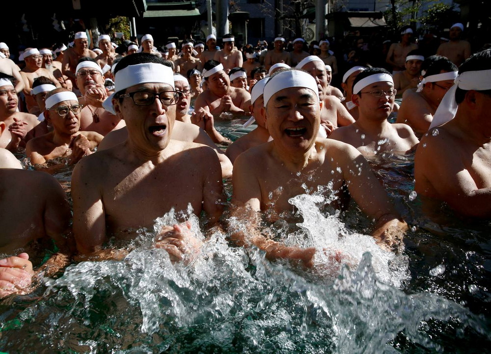 Японцы очистили души охладив тела