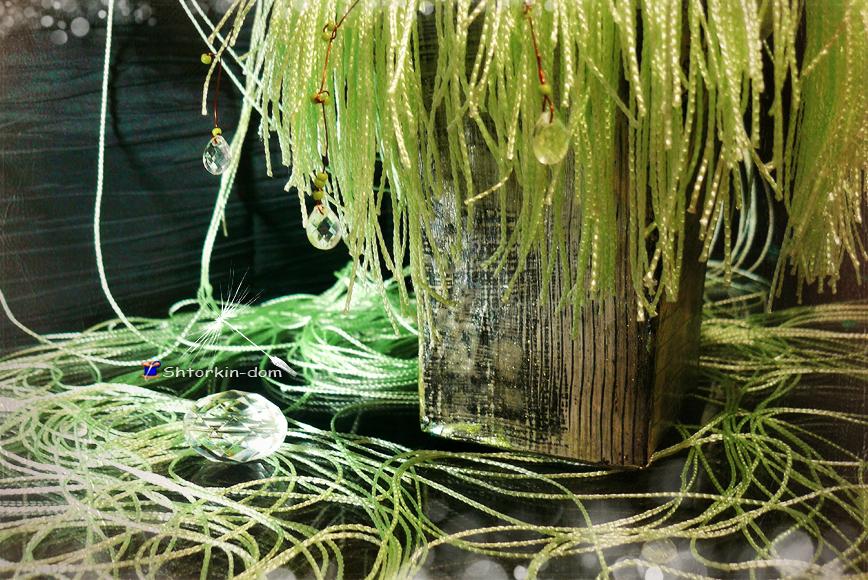 одуванчик из ткани. предметы интерьера. пошив штор и ламбрекенов от швейной мастерской Shtorkin-Dom в Славянске.