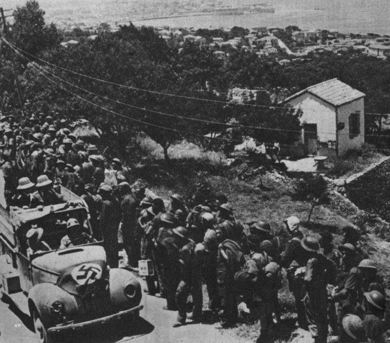 Вторая мировая вторжение в грецию