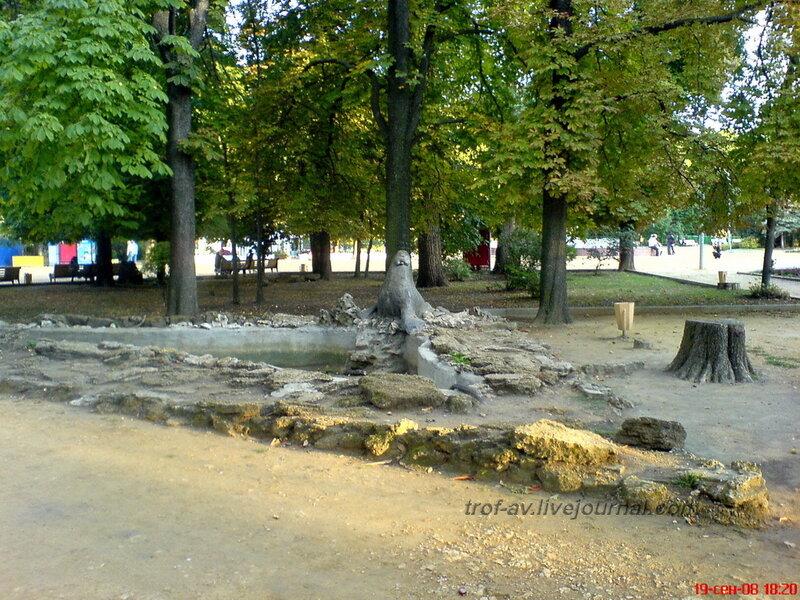 Морж, парк им. Горького, Таганрог
