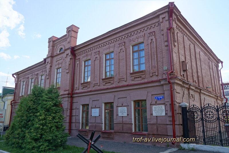 Здание штаба Омского военного округа (1915-17гг), Омск
