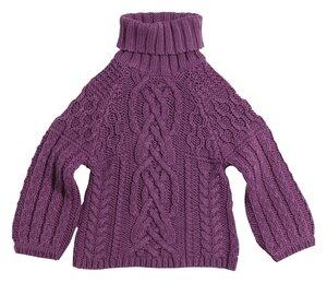 Аран + реглан = свитер унисекс