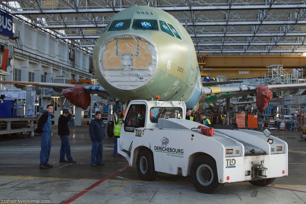 Как собирают AIRBUS в Тулузе