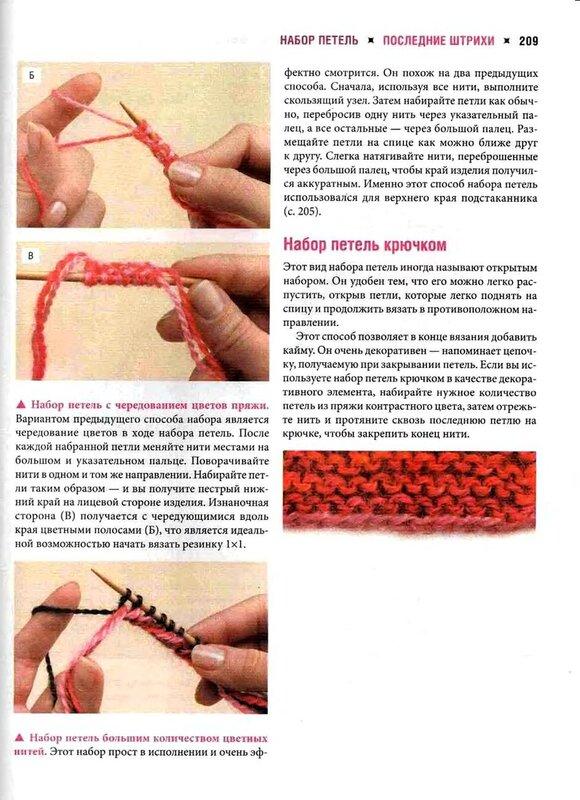 Вязание спицами с 3 петель