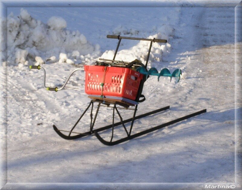 Зимние поделки для зимней рыбалки