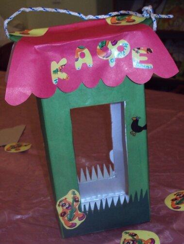 Клуб-лаборатория, Мир детских развлечений, Донецкое училище культуры, проведение занятий кружков, изготовление кормушек, кормушки своими руками