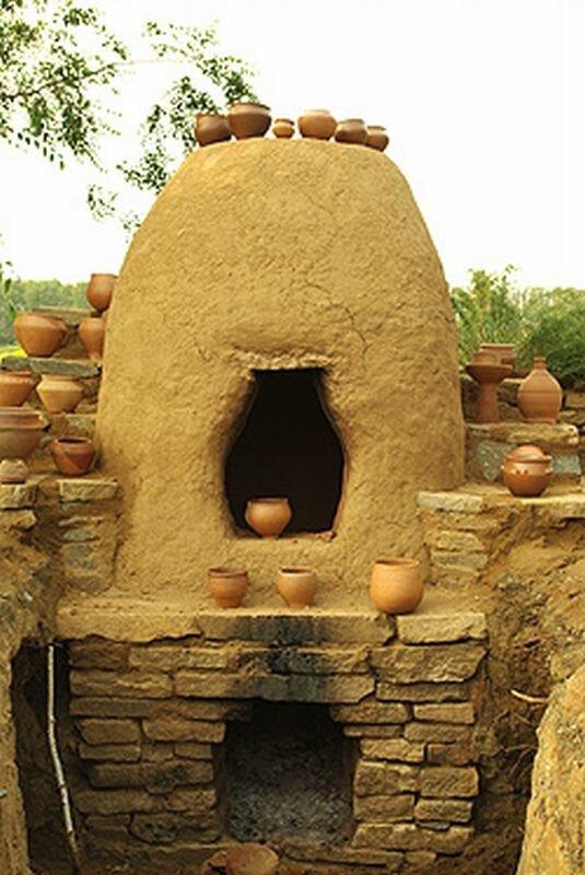 Воссоздана печь древних времён (29.05.2013)
