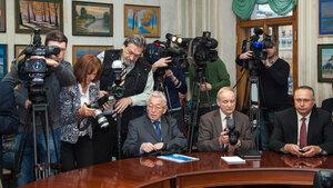 пресс-конференция «Информационное общество в России: итоги 2013 года»