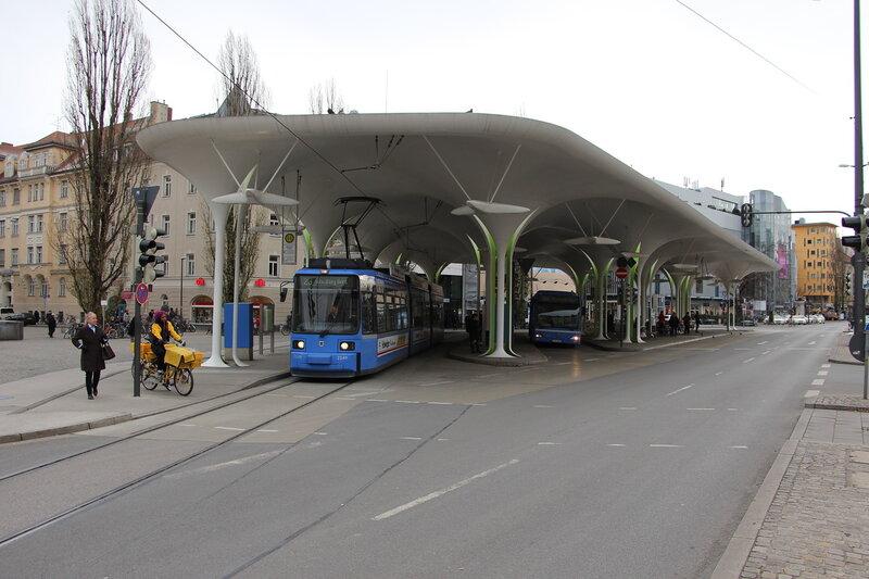Отношение в Мюнхене к трамваю
