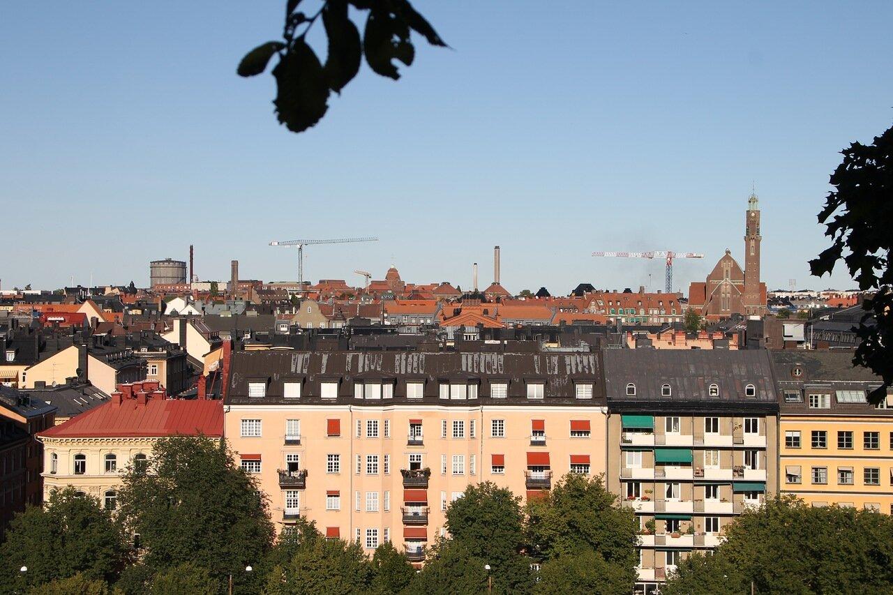 Stockholm. Park Observatorielunden