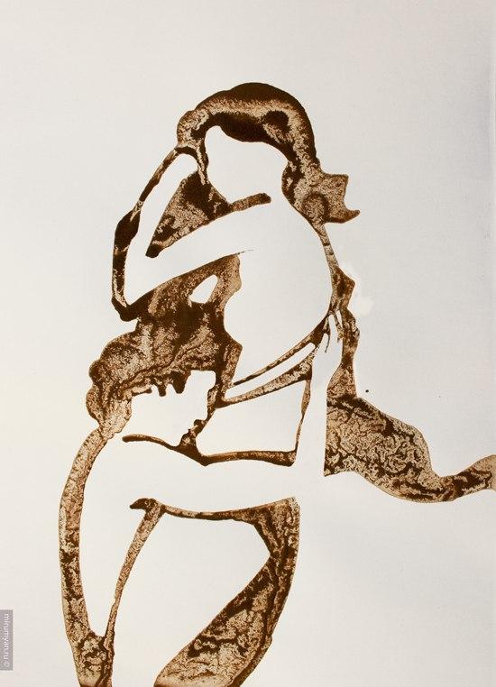Кофе-арт от Николая Мирумяна. Гадание на кофейной гуще
