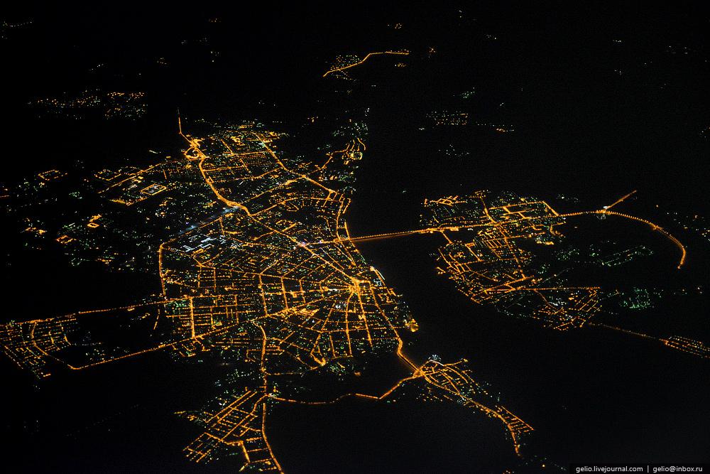 Кострома. Фотографии из окна самолета