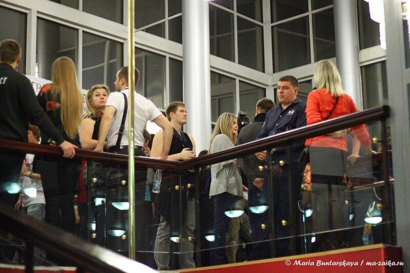 Ночь пожирателей рекламы, Саратов, драмтеатр имени Слонова, 03 ноября 2013 года
