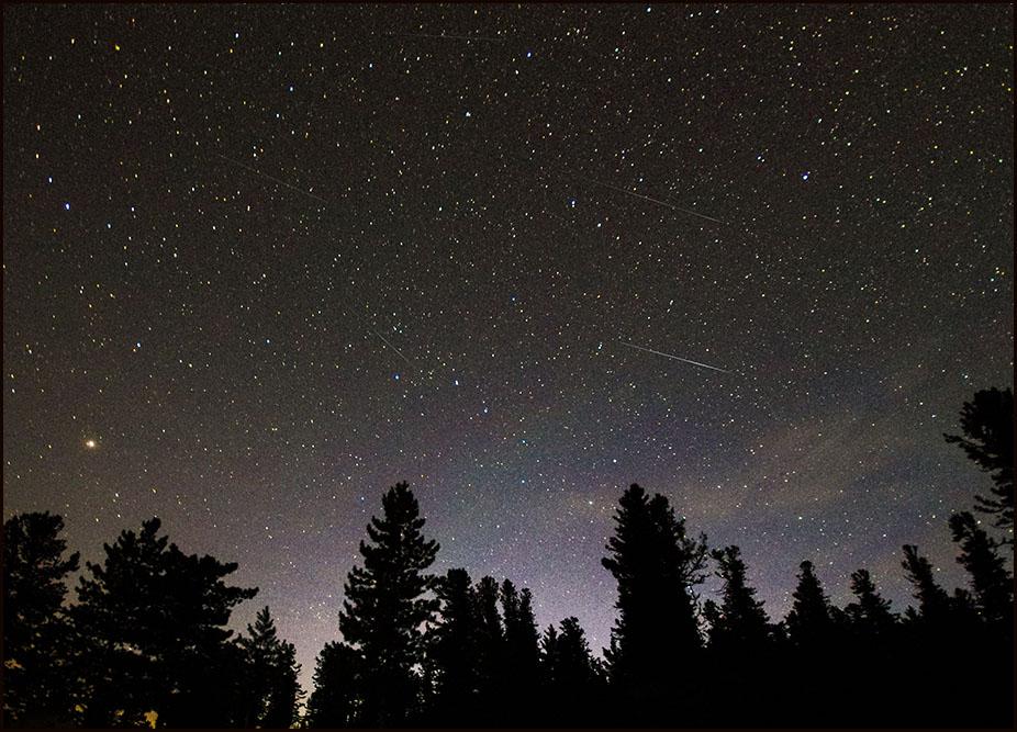 Звёзды и звездопад