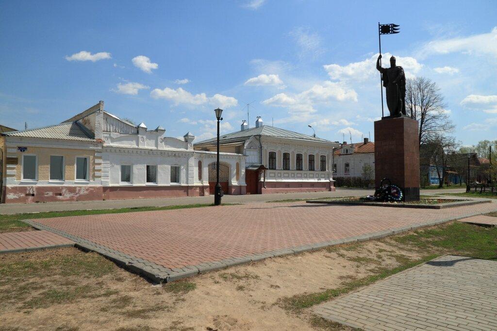Памятник Александру Невскому, Городец