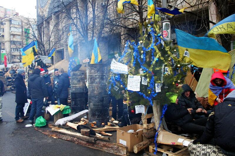 Жизнь Евромайдана