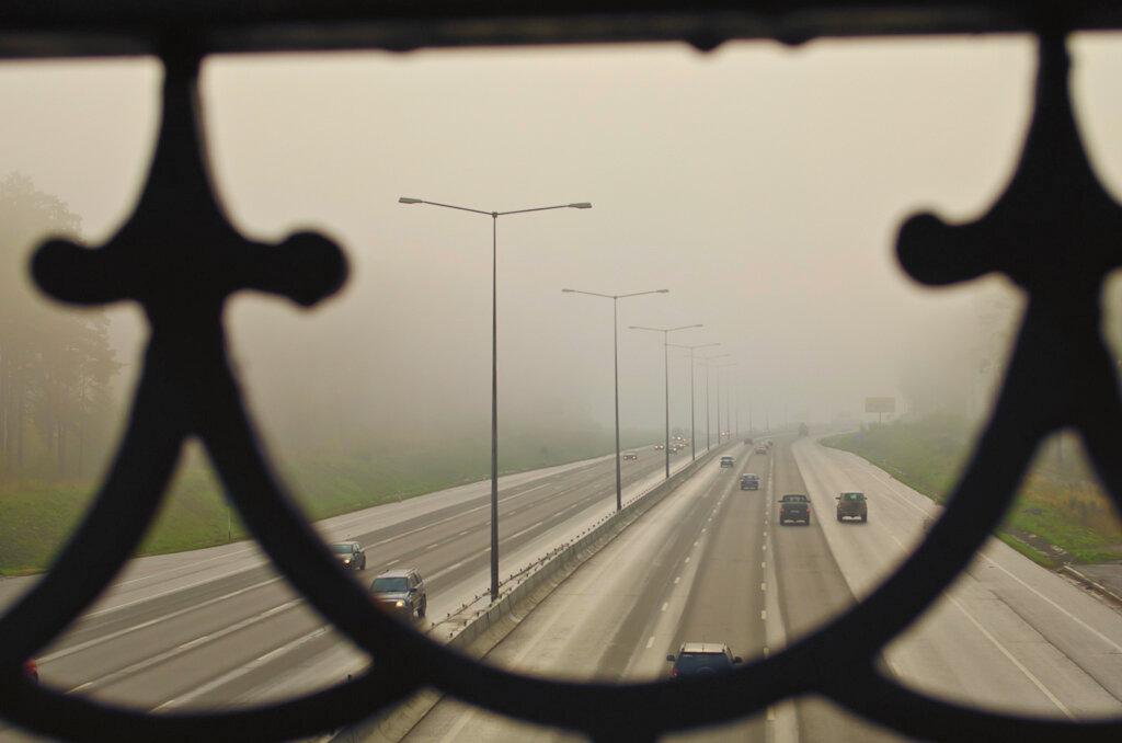 Дорога в никуда... Примеры фотографий на Nikon D5100 KIT 18-55.