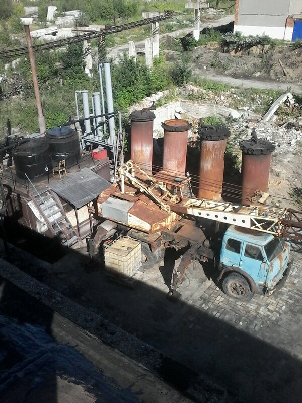 Пиролиз, завод.