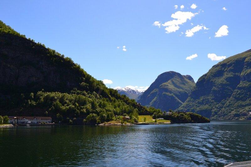 Прогулка по фьорду