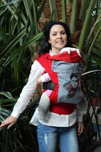 эрго рюкзак для девочек гусленок