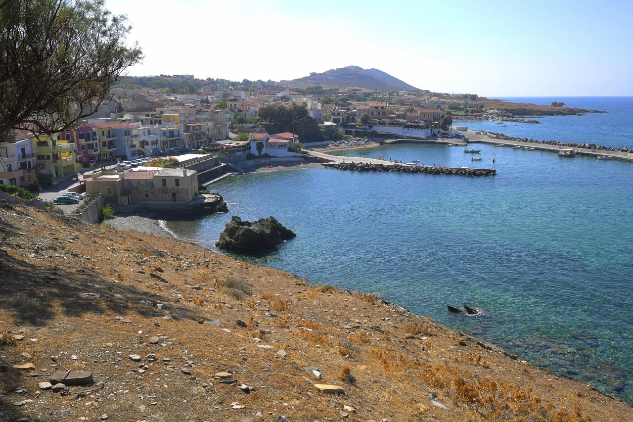 Вид на море и на деревню Панормо