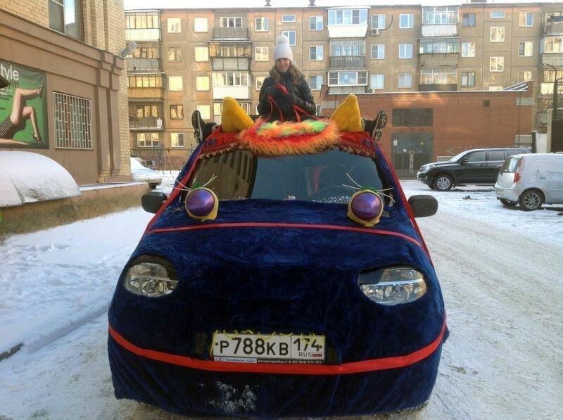 Челябинский костюм лошади для автомобиля