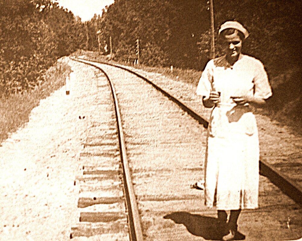 1940-е. Железная дорога Горький-Казань