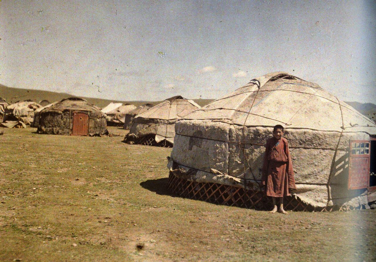Монгольские юрты