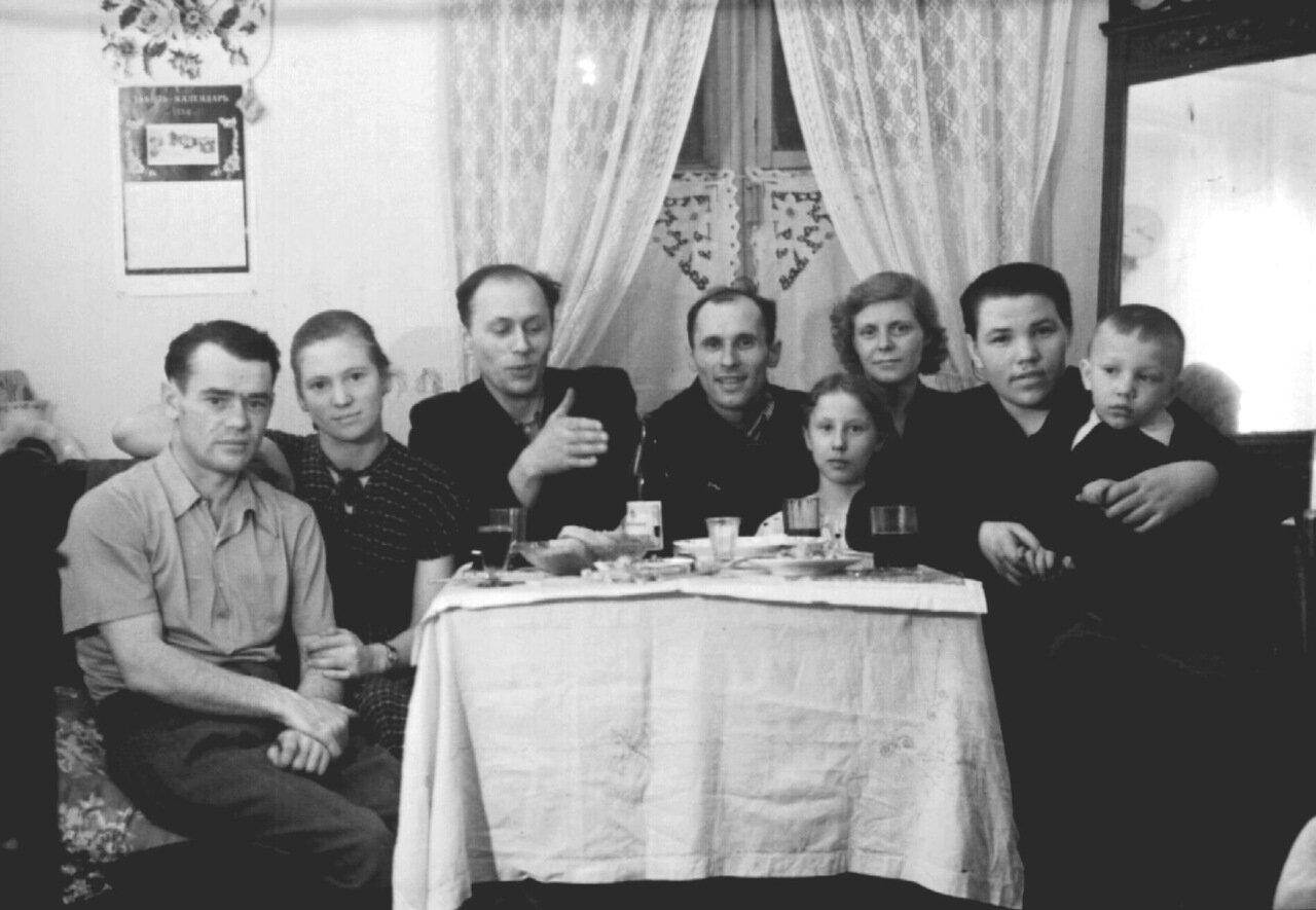 1958 г. В гостях у Третьяковых