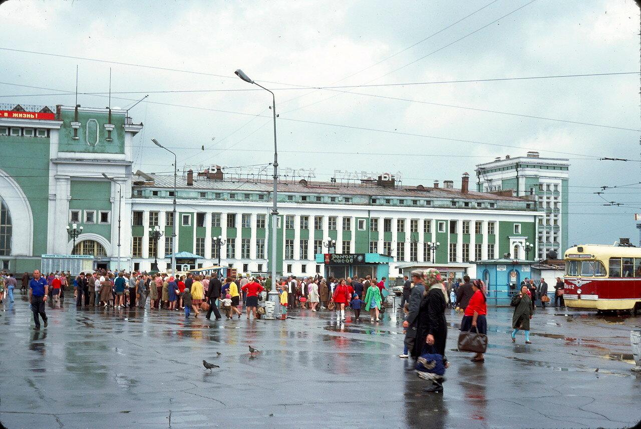 Привокзальная площадь Новосибирска