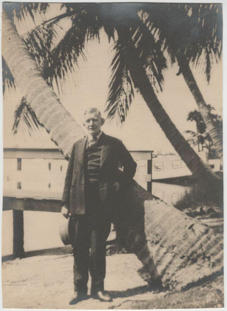 Гвидо Майделл на отдыхе во Флориде