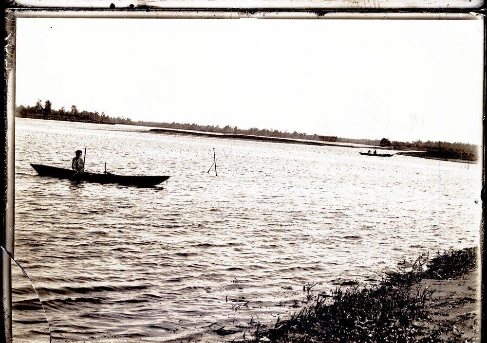 Устье реки Болгарин, притока Конды