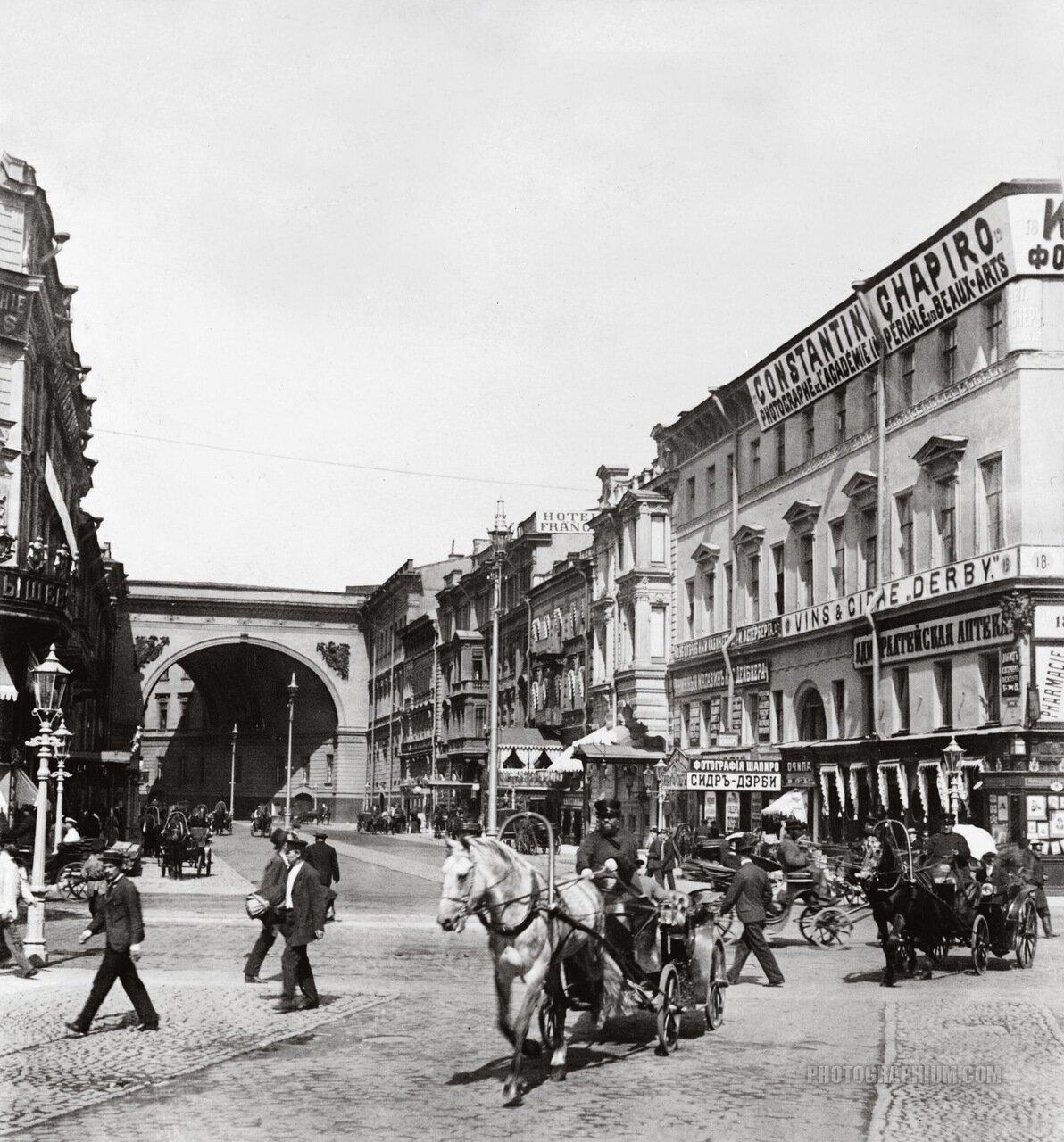 1901. Большая Морская улица